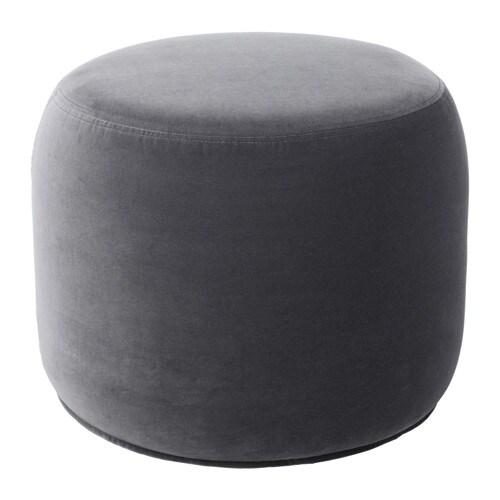stockholm 2017 pouffe sandbacka dark grey ikea. Black Bedroom Furniture Sets. Home Design Ideas