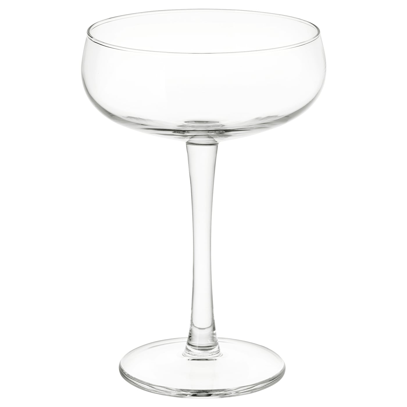 Storhet Champagne Coupe Clear Glass Ikea
