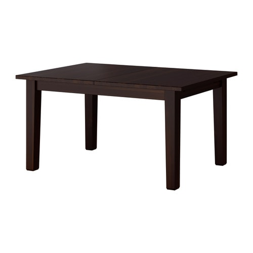 STORNÄS Extendable table IKEA Extendable dining table with 1 extra leaf seats 4-6; makes it possible to adjust the table size according to need.