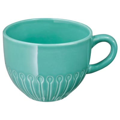 STRIMMIG Mug, turquoise, 36 cl