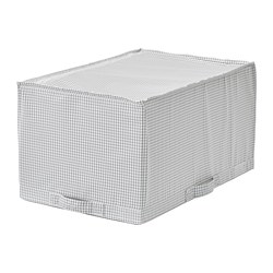 STUK storage case, white/grey