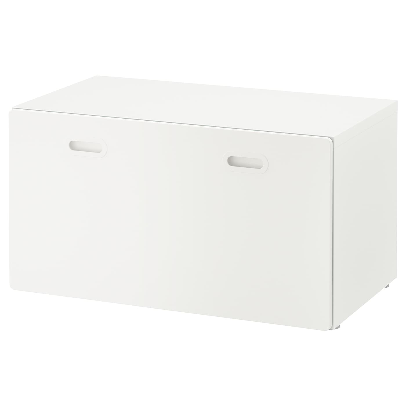Picture of: Stuva Fritids Bench With Toy Storage White White 90x50x50 Cm Ikea