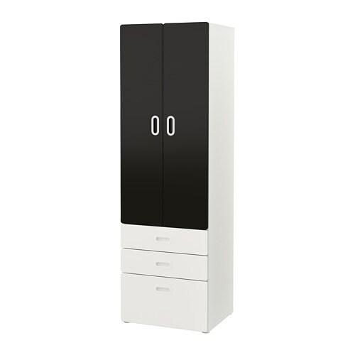 Stuva Fritids Wardrobe White Blackboard Surface Ikea