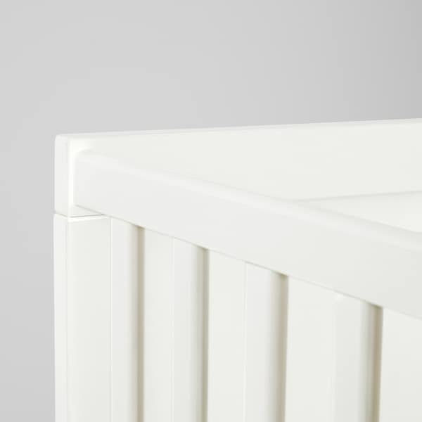 SUNDVIK Cot, white, 70x132 cm