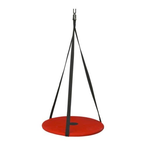 SVÄVA Swing IKEA Swinging develops the sense of balance and body perception.   It also brings a feeling of well-being and relaxation.