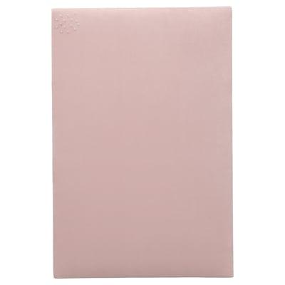 SVENSÅS Memo board with pins, light pink, 40x60 cm