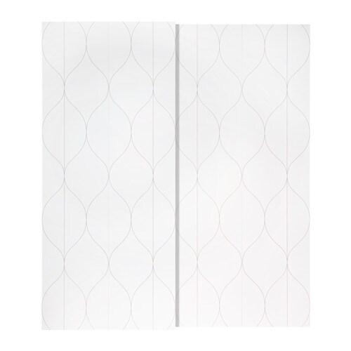 svorkmo pair of sliding doors - 200x236 cm