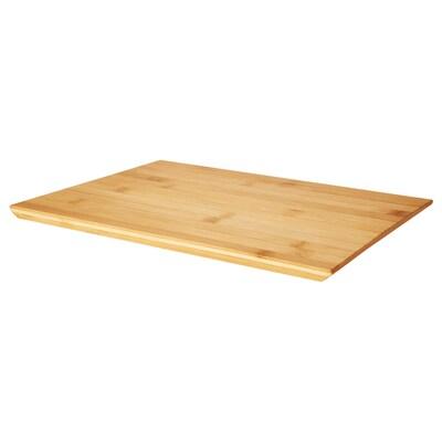 SYNSÄTT Chopping board, bamboo, 33x22 cm