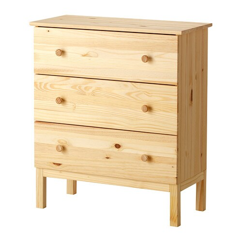TARVA Chest of 3 drawers IKEA Of course your home should be a safe place for the entire family.