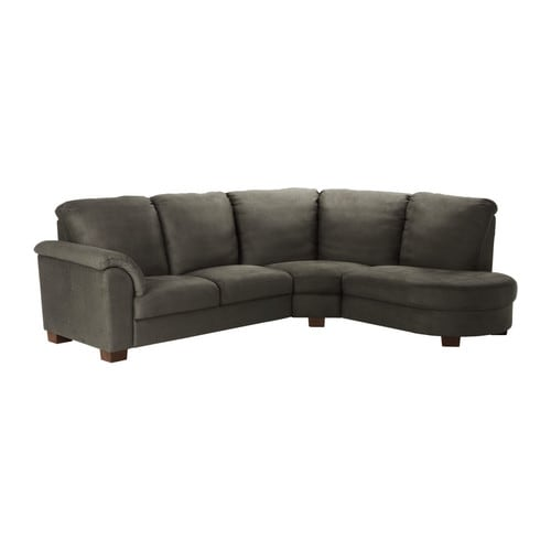 TIDAFORS Corner sofa with arm left IKEA High back; provides soft and comfortable support for the neck and head.