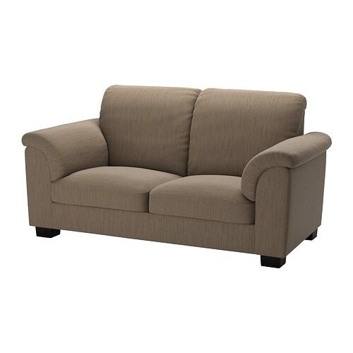Tidafors Two Seat Sofa Hensta Light Brown Ikea