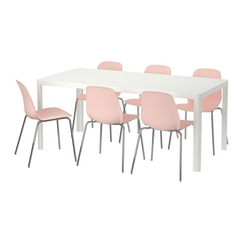 Tingby Leifarne Table And 6 Chairs Ikea