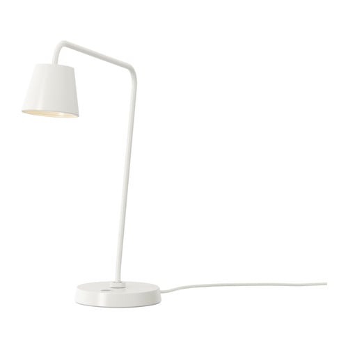 TISDAG LED work lamp IKEA The LED light source consumes up to 85% less energy and lasts 20 times longer than incandescent bulbs.