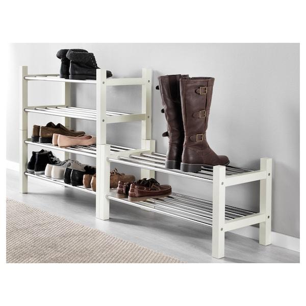 TJUSIG shoe rack white 79 cm 32 cm 37 cm