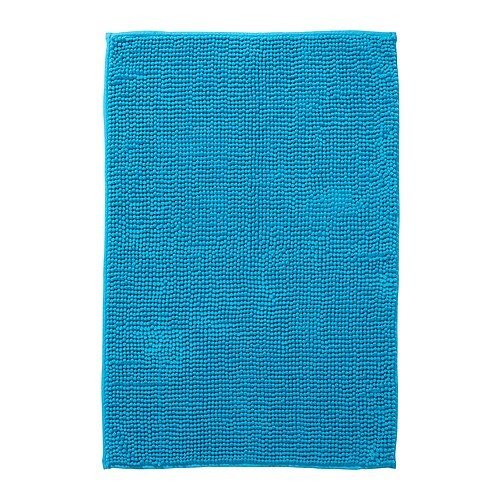 TOFTBO Bath mat IKEA Made of microfibre; ultra soft and absorbent and dries quickly.