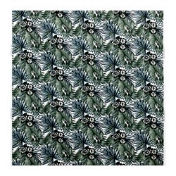 TORGERD fabric, white/green