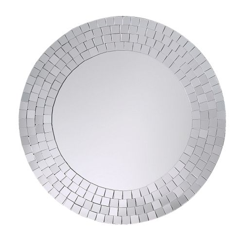 TRANBY Mirror IKEA Handmade; each mirror is unique.  Can be used in high humidity areas.