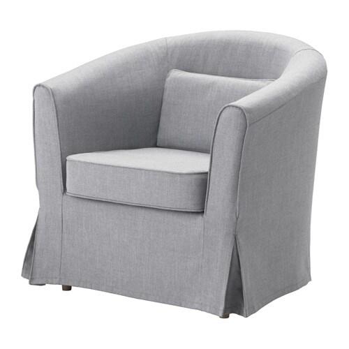 Tullsta Armchair Nordvalla Medium Grey Ikea