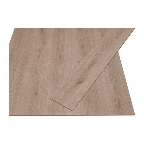 Tundra laminated flooring ikea for Pavimenti in pvc ikea