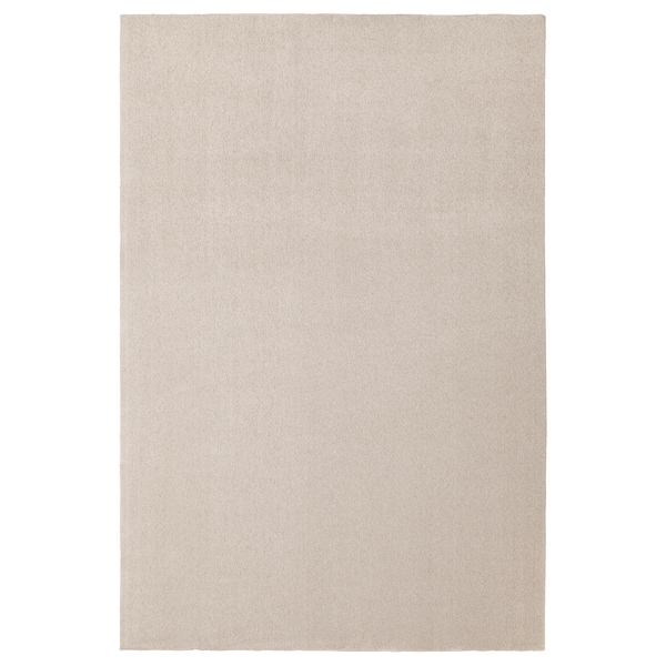 TYVELSE Rug, low pile, off-white, 200x300 cm