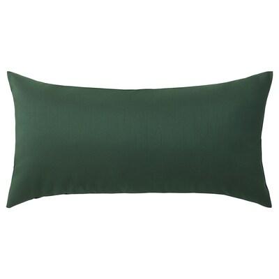 ULLKAKTUS cushion dark green 30 cm 58 cm 250 g 300 g