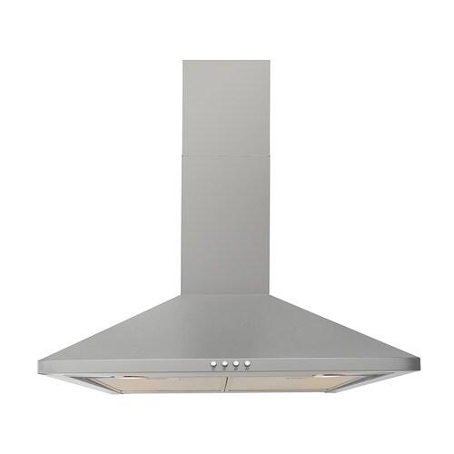 Uppdrag wall mounted extractor hood ikea for Ikea kitchen hood