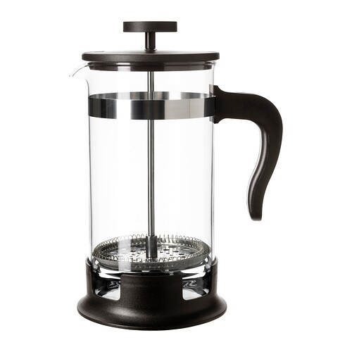 UPPHETTA Coffee/tea maker IKEA Can be taken apart for easy cleaning.