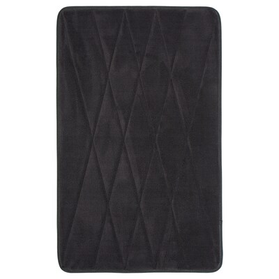 UPPVAN Bath mat, anthracite, 50x80 cm