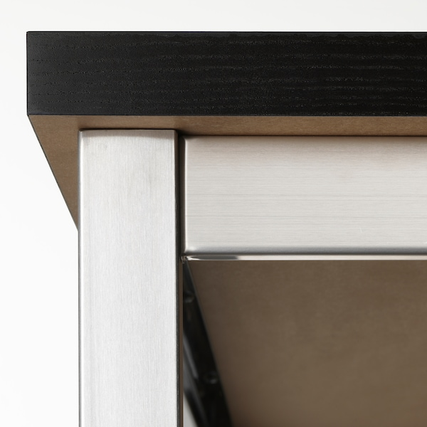 UTBY Underframe, stainless steel, 120x60x90 cm