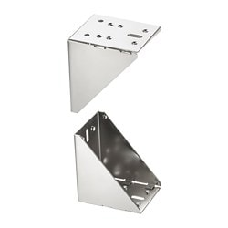 UTRUSTA corner fittings, galvanised