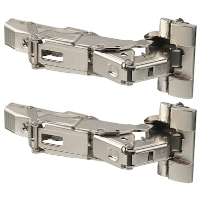 UTRUSTA hinge w b-in damper for kitchen 153 ° 2 pack