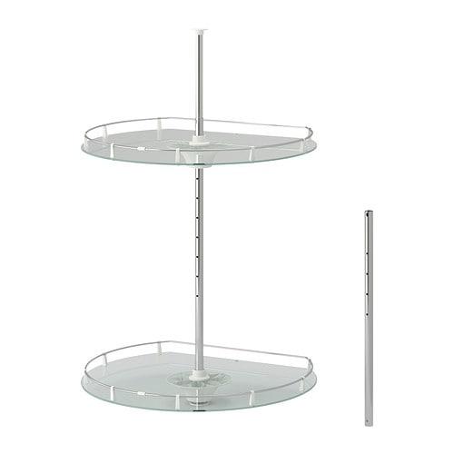 utrusta wall corner cabinet carousel ikea. Black Bedroom Furniture Sets. Home Design Ideas