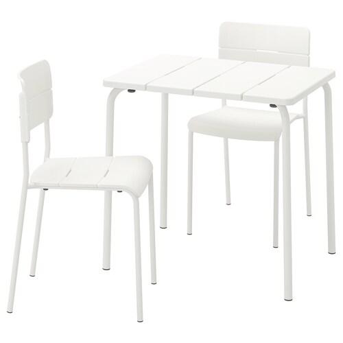 IKEA VÄDDÖ Table+2 chairs, outdoor