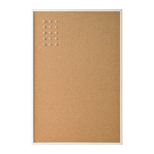 VÄGGIS Noticeboard IKEA Can be hung horizontally or vertically, choose whichever fits your space best.