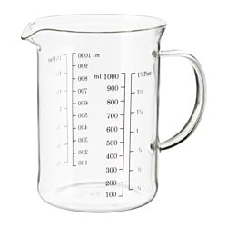 VARDAGEN measuring jug, glass