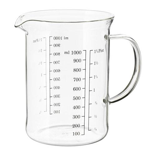 Volume Measuring Instruments : Vardagen measuring jug ikea