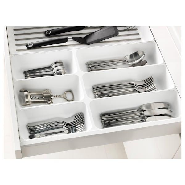 VARIERA Cutlery tray, white, 32x50 cm