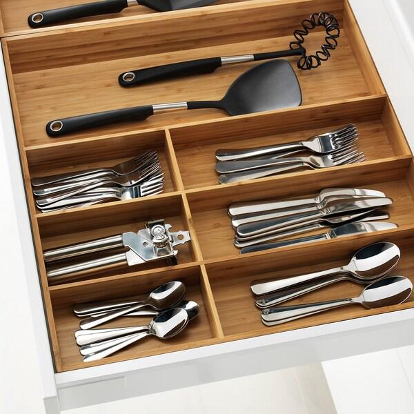 VARIERA cutlery tray bamboo 52.0 cm 60 cm 50.0 cm 5.4 cm