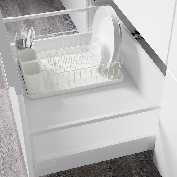 VARIERA dish drainer white 42 cm 30 cm 12 cm