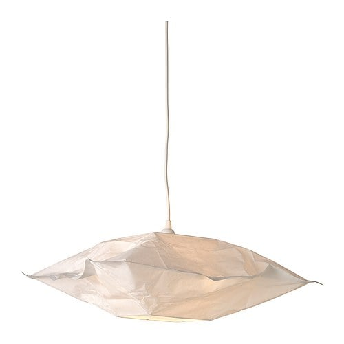 VARMLUFT Shade IKEA Gives a soft glowing light, that gives your home a warm and welcoming atmosphere.
