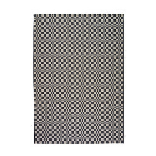 V rum rug flatwoven ikea for Grey rug ikea