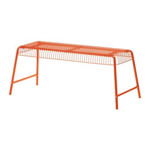 v ster n bench in outdoor orange ikea. Black Bedroom Furniture Sets. Home Design Ideas