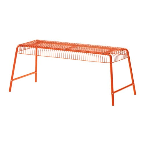 V 196 Ster 214 N Bench In Outdoor Orange Ikea