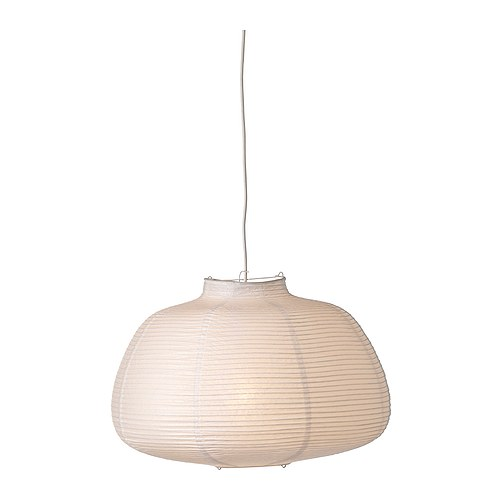 VÄTE Pendant lamp shade IKEA Diffused light; gives a general light.