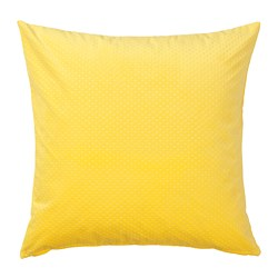 VENCHE cushion cover, bright yellow