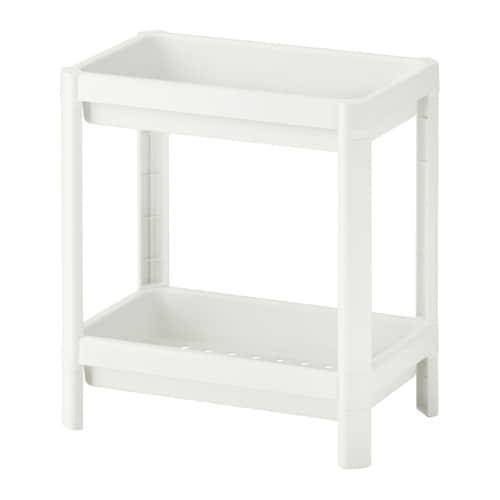 Vesken Shelf Unit White Ikea