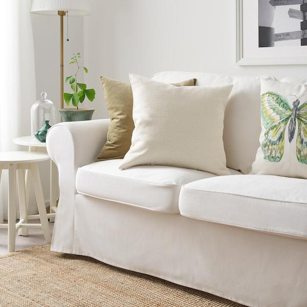 VIGDIS Cushion cover, natural, 50x50 cm