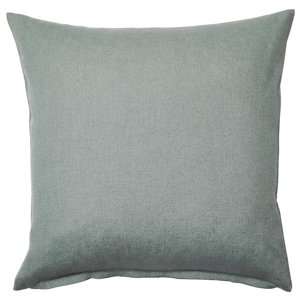 VIGDIS Cushion cover, pale green, 50x50 cm