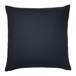VIGDIS cushion cover, dark blue