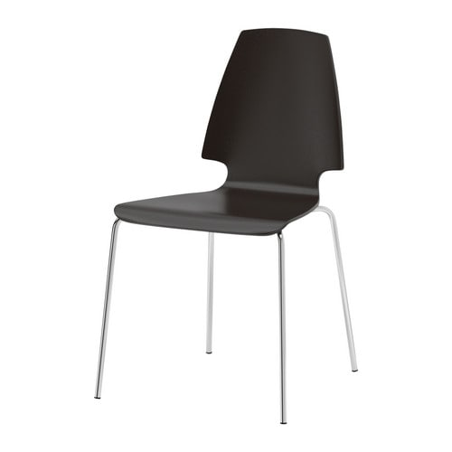 VILMAR Chair IKEA The clear-lacquered surface is easy to wipe clean.